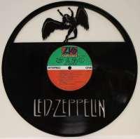 "LED ZEPPELIN VINYL 12"" LP RECORD LASER CUT WALL ART ..."