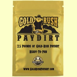 2.5 Pounds of GOLD RUSH PAYDIRT, Screened, Real Gold Guarantee!  Free Ship!