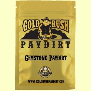 2.5 Pounds of GEMSTONE PAYDIRT, Screened, Real Gold Guarantee!  Free Ship!
