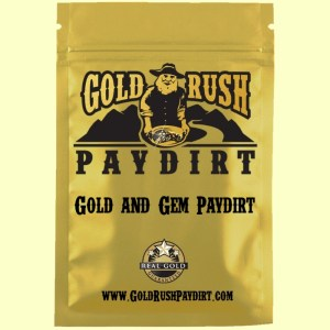 2.5 Pounds of GOLD and GEM PAYDIRT, Screened, Real Gold Guarantee!  Free Ship!