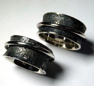 Schwrzen von Silber Altsilberein Beispiel anhand von Ringen