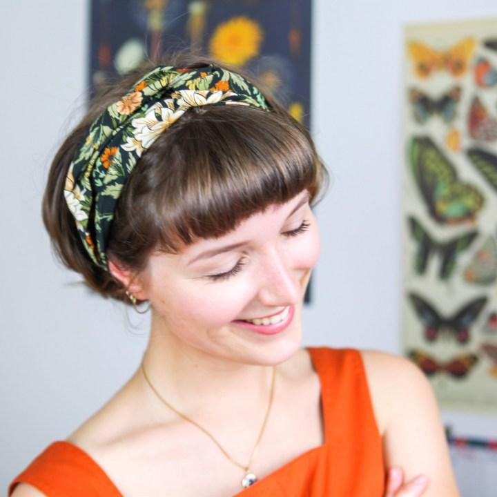 DIY: Turban-Haarband nähen