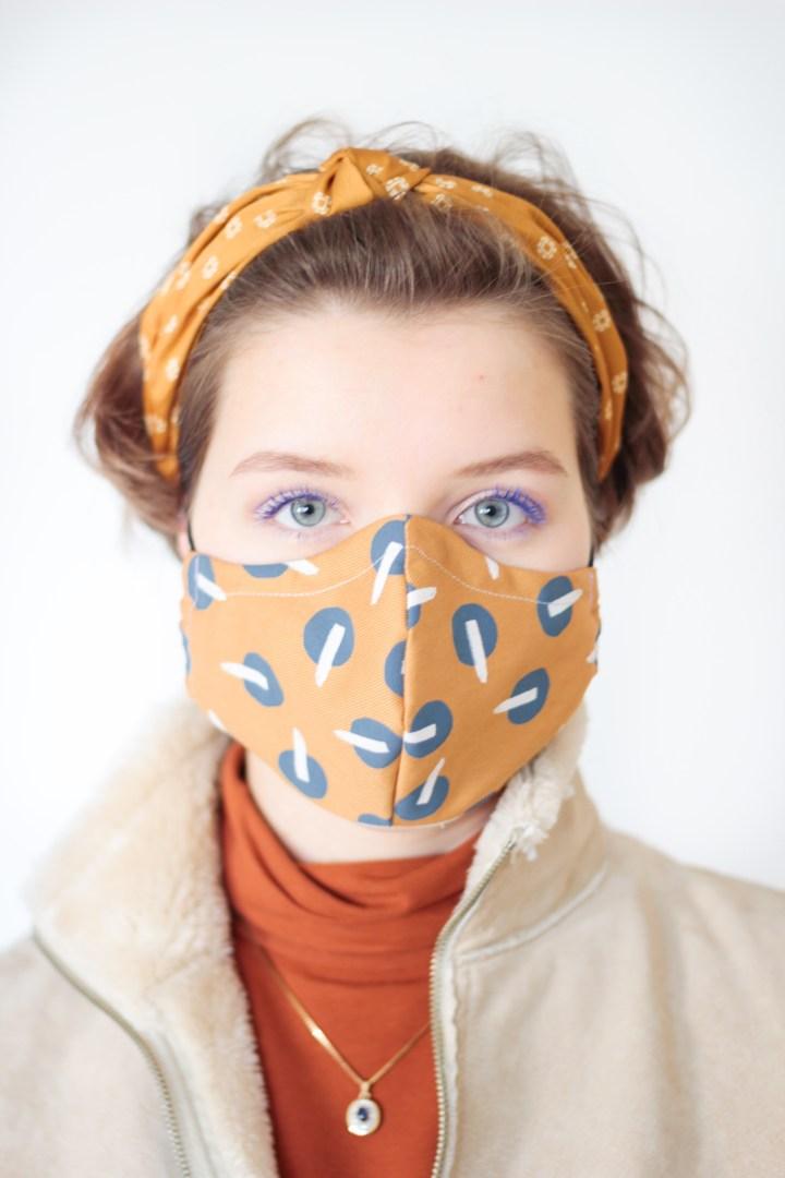 DIY Atemmaske / Mundbedeckung nähen