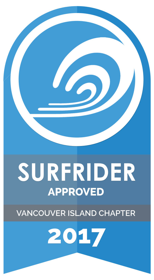 Surfrider Approved for 2017