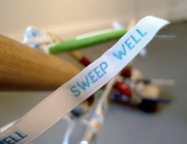 Sweep Well, custom ribbon