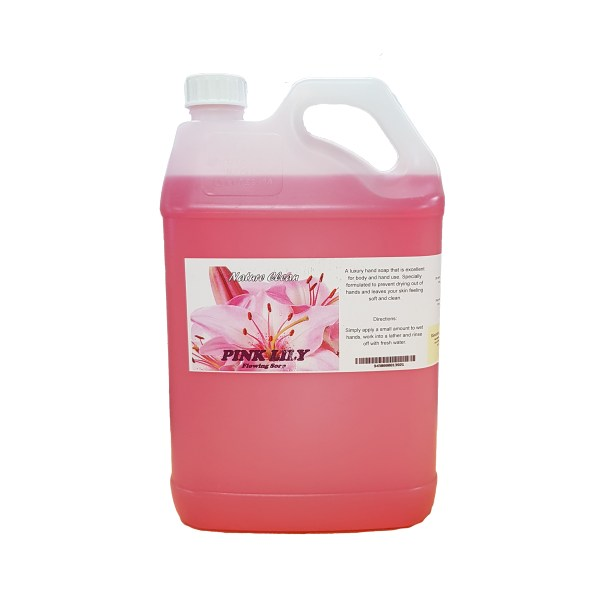 Pink Lilly Flowering Hand Soap