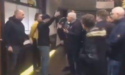 Aficionados del Roda JC sacan a la fuerza al dueño del equipo del estadio