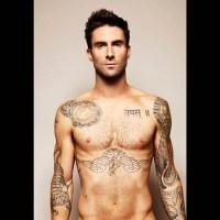 Adam Levine é proibido de expor tatuagens em academia de ginástica