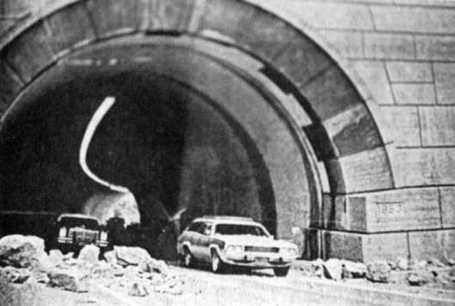 1978 earthquake gaviota tunnel