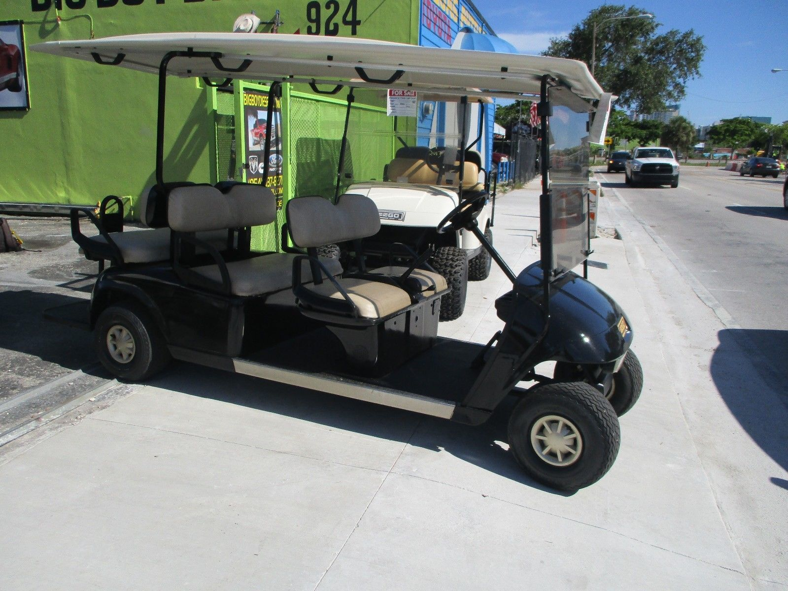 ez go ford f250 wiring diagram lights great runner 2013 golf cart 48 volt 6 passenger for sale