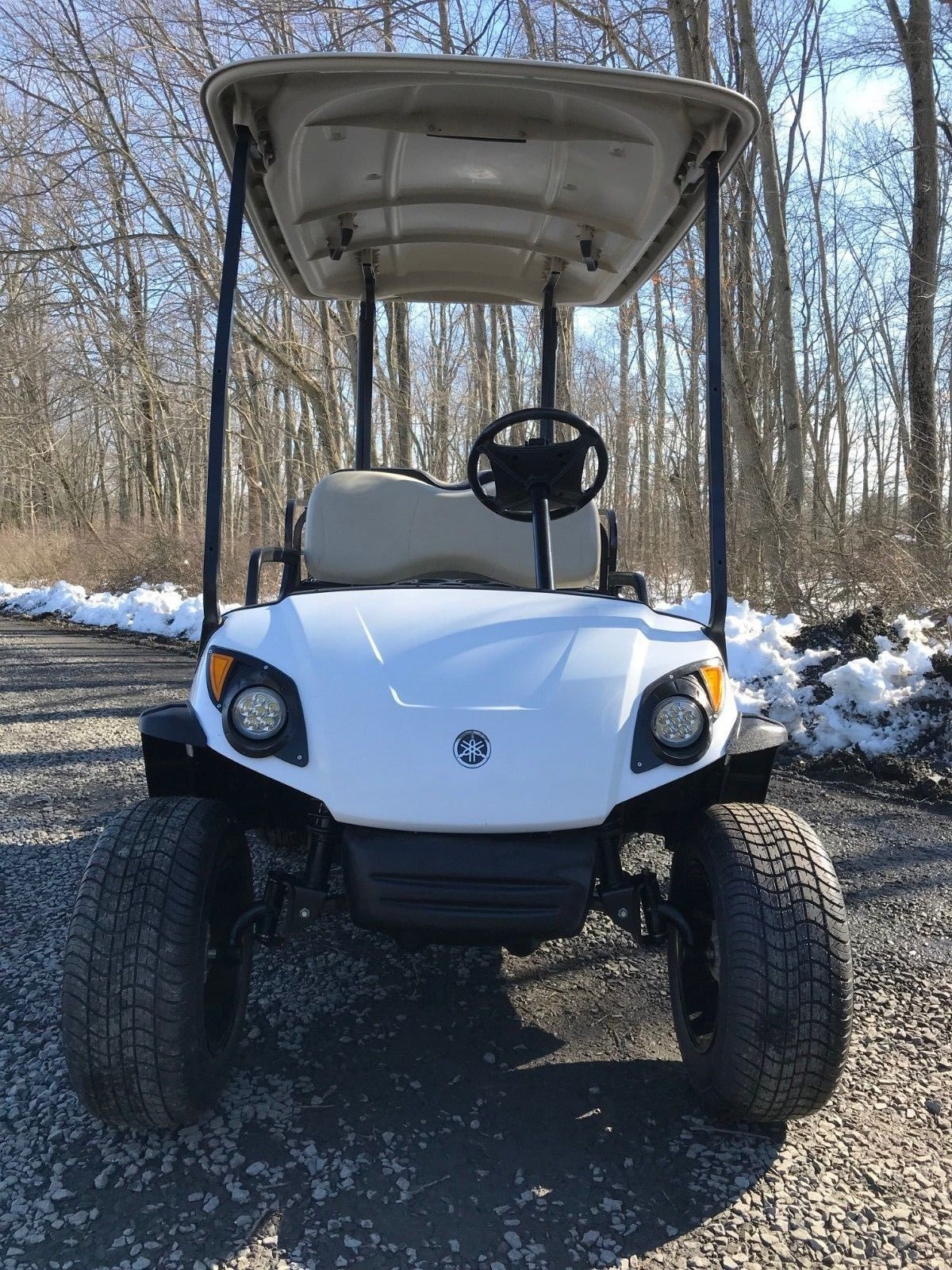 Lifted Yamaha G29 Drive Gas Golf Cart For Sale