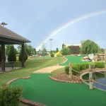 Golf Mountain Rainbow