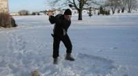 """Tradycyjnie zaczęliśmy rok od wybicia kilku piłek: 310 metrów poleciała! Więcej zdjęć znajduje się <a href=""""http://blog.golf-olszewka.pl/2011/01/01/swiry-w-akcji/"""">na naszym blogu</a>."""