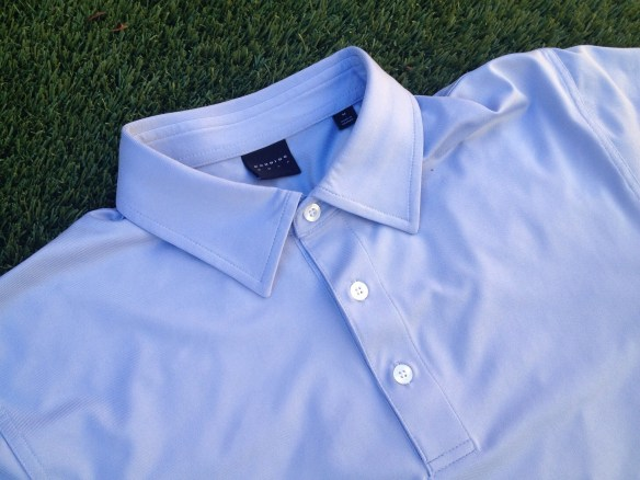 Stretch Solid Jersey Polo