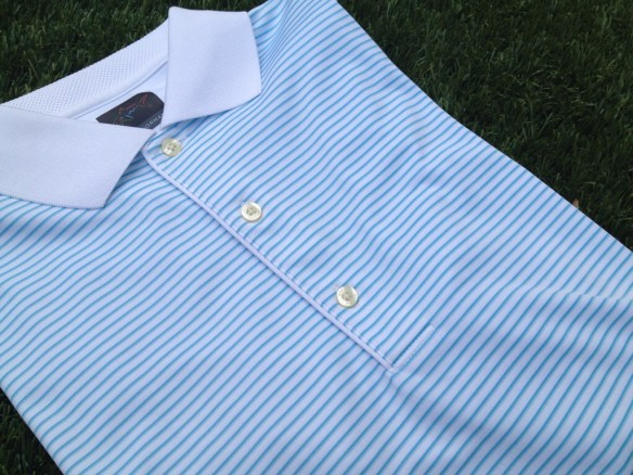 Greg Norman ML75 Shadow Stripe Polo