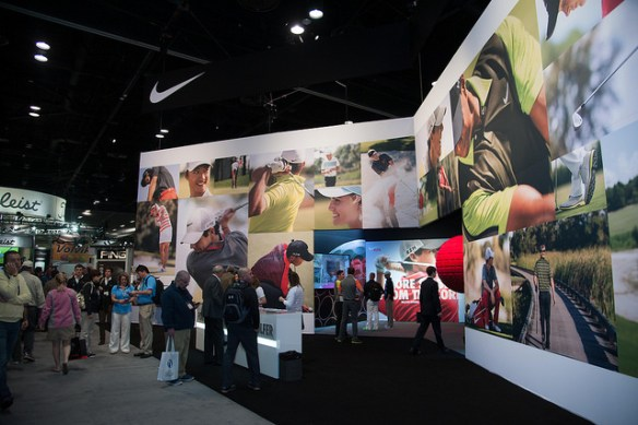 Nike Golf Booth