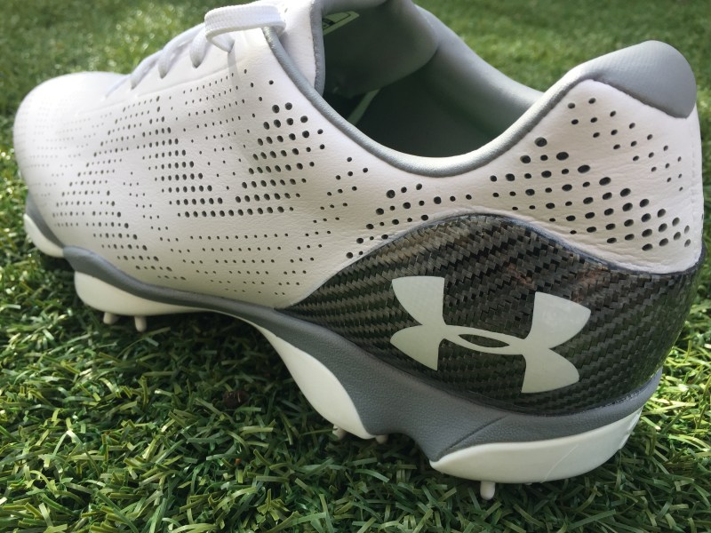 Jordan Spieth Shoe: Under Armour Drive One Heel Counter