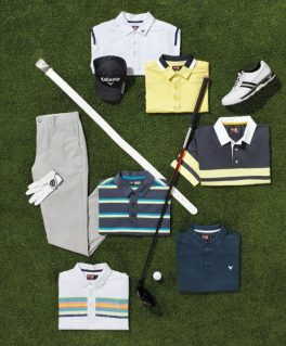 Mellow Yellow Color Story (Image via Callaway Apparel and Perry Ellis International)