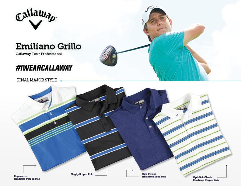 Emiliano Grillo Callaway Apparel PGA Championship2016