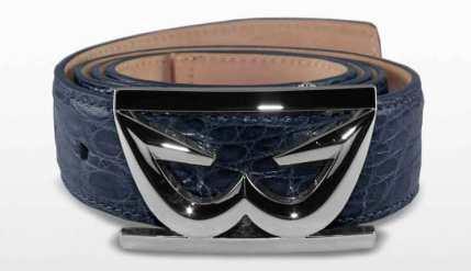 Caiman Croc Belt with Zen Buckle