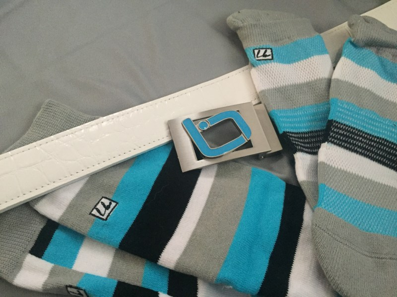 Longball Croc belt and Pipes Socks