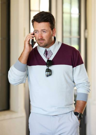 The McVista Sweater with the McFort Polo