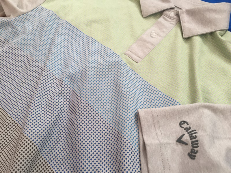 Brushed Pixel Printed Polo