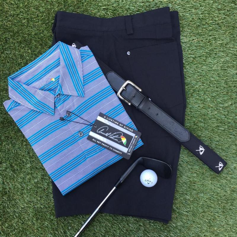 Arnold Palmer Quail Hollow Polo, AP Invitational, and Canvas Belt