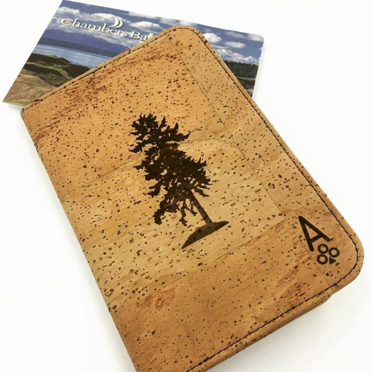 ace of clubs cork scorecard holder