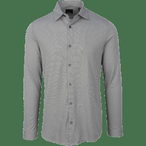 Greg Norman Modern Heritage Knit Sport Shirt Gray