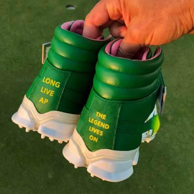 rickie fowler arnold palmer hi-tops heel