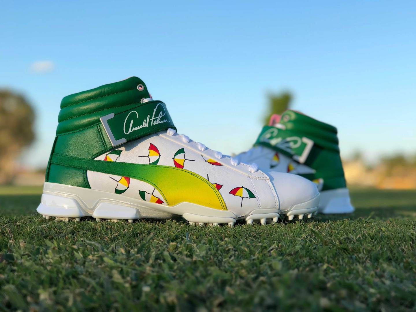 rickie fowler arnold palmer hi-tops feature