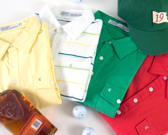 "The Masters Special Edition: Spectator Scripting and Entertaining by Janice Ferguson Style Editor Whether you'll be attending the first major golf tournament in Augusta, or hosting/attending a Masters party, we've curated some ideas on what to wear and what to serve that will put you top of the leaderboard among family and friends. The Outfits: Guys, you'll want to look the part without going overboard in green and yellow. Here are a few suggestions that feel modern, casual and put-together. Criquet has a few ways you can go with Masters-inspired Players shirts made with Pima cotton, and a little stretch for comfort. The fit is classic, not slim or boxy, with traditional detailing. If T-shirts are more your choice, Swing Juice has its creative Major's collection of tees with different sayings that fit this hallowed golf occasion. For bottoms we choose Bonobos Highland Lightweight golf shorts that come in seven colorways and two lengths - the Gator green to wear with lighter colored, stripe polos, or the regular Highland golf short in heathered pink to carry the azalea theme. Stone and khaki go with the bright yellow t-shirt and darker tops. Add a preppy Smathers & Branson needlepoint golf belt - the official Masters design is sold on site at Augusta during the tournament, but pop up for re-sale on the internet if you are persistent. ""P"" is for pimento, a nod to the sandwich made famous by Augusta National. (Recipe in Entertaining below) The very popular Puma golf cap is a snapback style with Flexfit Tech and a moisture-wicking sweatband. G/FORE released its Limited Edition Major Gallivanter shoe last week, featuring a premium waterproof leather and classic styling. Great for on-course or tournament spectator - throw on a pair of sneakers or loafers if doing the party option. Of course, any casual button-down shirt with rolled-up sleeves, shorts, and a belt is a quintessential spring party look. Ladies, we picked a classic, solid white dress by Hedge that will look stellar against a backdrop of pink azaleas and green grass. This Quimby dress has side pockets for a golf ball or lip gloss storage. The stretch linen fabric and loose silhouette will keep you looking hostess-ready all day. The dress also comes in rose and navy. Pull in some Augusta color with light pink colored shoes by Born, or pick a pair of white sneakers/golf shoes from your closet and add fun pink kilties. We found these on Etsy. Having a simple green cardigan sweater handy accents the outfit and gives you a light layer if needed. You can spend $600 for a Burberry, or $15 for this one from H&M. You can never go wrong with a woven hat - for sun protection and style. Nice but inexpensive options, like the one shown from Banana Republic, can be made Masters-ready by adding a sash from golf-themed fabric or green ribbon. Even easier, borrow a golf necktie from your dad's or husband's closet and tie it around. The Accessories: G/FORE also released a limited edition clover green and yellow tipped golf glove in time for the Masters. Not exactly things you'd carry into a party or need for walking a tournament, but Sugarloaf Social Club has some cool, made to order swag like the Par-3 Spring Pimento Bag made in ballistic nylon by MacKenzie Golf Bags. There's also Pimento head covers available in green, white, red and yellow leather, and a Pimento Tour yardage book holster. The Entertaining: Knock yourself out making a big spread or keep it simple and have more time to enjoy watching the tournament. Azalea Cocktail served in mason jars. (Makes one serving) Ingredients: 2 parts gin 1 parts lime or lemon juice 1 parts pineapple juice, a splash of grenadine. Mix in a cocktail shaker, pour over ice and garnish with Masters cocktail flags. Pimento Cheese sandwiches. (Makes 2) Ingredients: 4 oz sharp yellow cheddar cheese, finely grated (1 1/2 cups) Half 3 oz jar pimentos, drained and finely chopped (1/4 cup) 2 Tbls mayonnaise 1/2 tsp pepper sauce 1/2 tsp salt 1 cup watercress sprigs, stems discarded Mash cheese, pimento, mayonnaise, and hot pepper sauce in a small bowl with a fork until well combed. Season with salt to taste. Cover and chill for 1 hour to allow flavors to blend. Spread pimento cheese mix evenly on bread - white bread if you want authentic Augusta style. Top with watercress springs. Cut into triangles and serve. ***Note: These Masters party recipes are from YourSouthernPeach.com, and there's a link for free printable drink flags. Need more ideas or a hostess gift idea, the Junior League of Augusta (jlaugusta.org) has several cookbooks to choose from - we like ""Par 3 Tea-time at the Masters"" - showcasing recipes from PGA golfers, PGA wives, resort chefs, etc."
