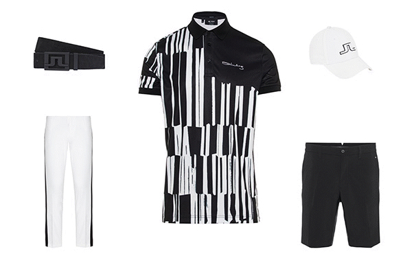J.Lindeberg Art Polo Collection 1 Outfit 1