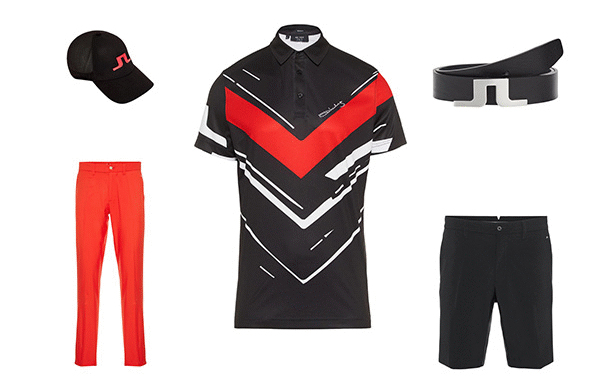 J.Lindeberg Art Polo Collection 2 Outfit 1
