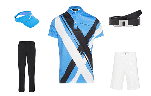 J.Lindeberg Art Polo Collection 3 Outfit 2