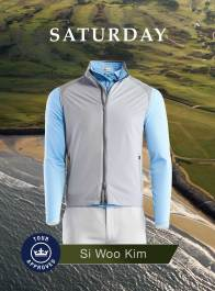 Si Woo Kim 2018 Open Championship Apparel Scripts Saturday