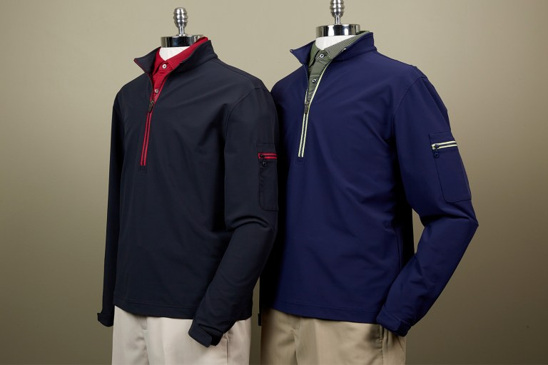 Donald Ross Nylon pullover
