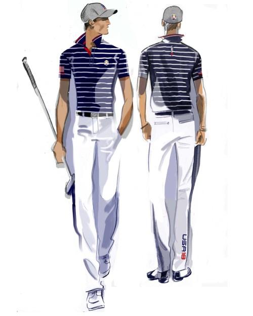 U.S. Ryder Cup Uniforms Friday