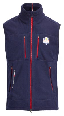 Laminated Micro Fleece Vest