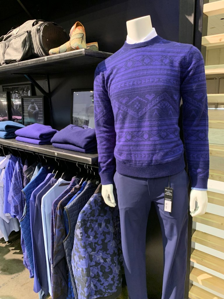 style award greyson print sweater
