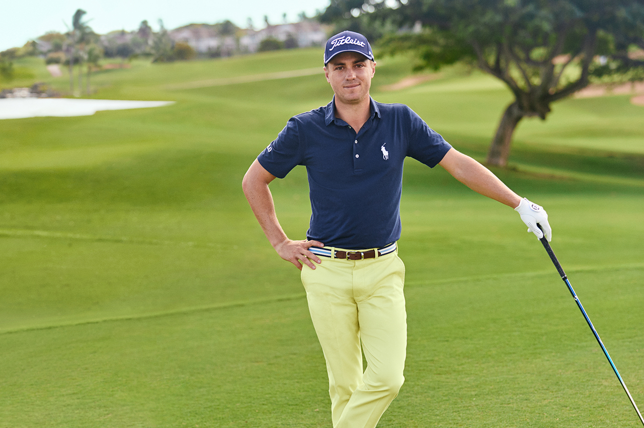 justin thomas ralph lauren belts