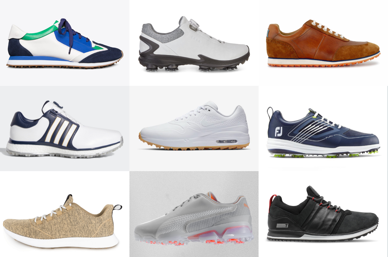 golf shoe guide feature