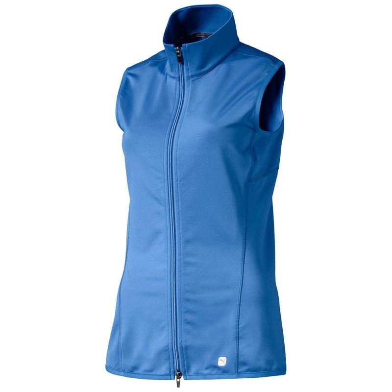 puma full-zip knit vest