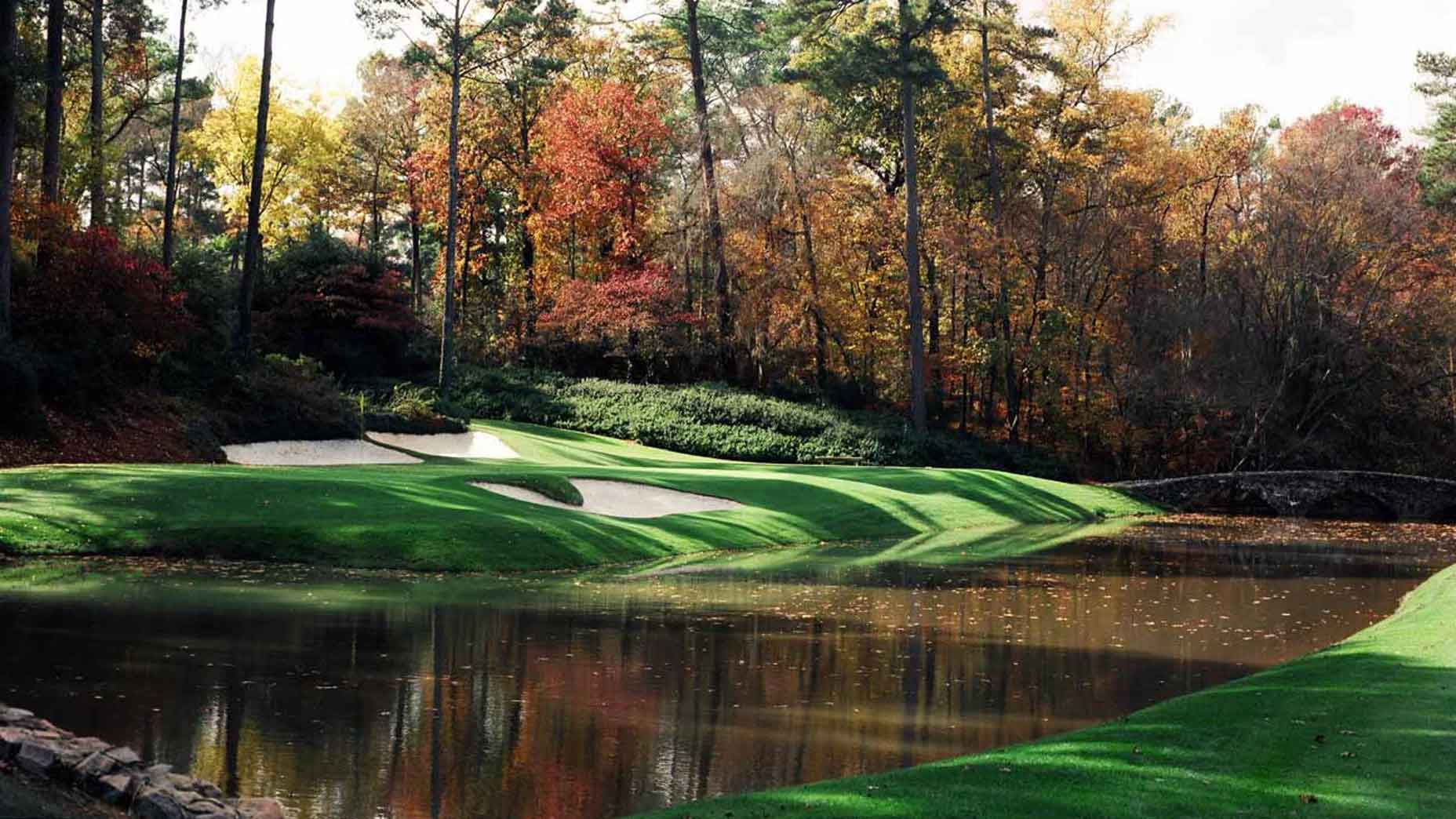Augusta National in the fall
