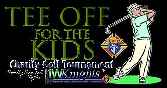 IWKnights Golf Tournament Official Logo - Small Ver. (314 x 173 pixels)