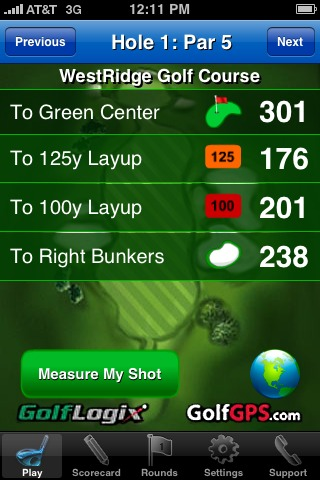 GolfLogix iPhone app review