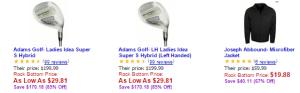 Rock Bottom Golf Daly Deal Jan222015