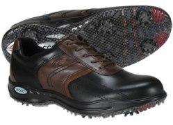 Ecco Hydromax Sport Saddle Golf Shoe