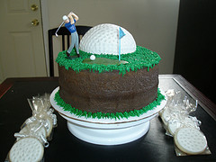 Golf Themed Birthday Cakes GolfBlogger Golf Blog